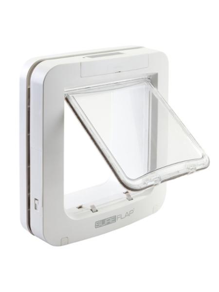 sureflap katzenklappe gross mikrochip ihr tiershop f r g nstiges tierzubeh r. Black Bedroom Furniture Sets. Home Design Ideas
