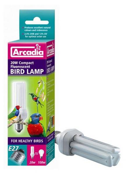 Arcadia Vogellampe Bird Lamp Compact