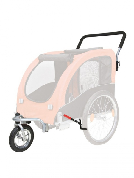 umbausatz zum jogger zu fahrrad anh nger ihr tiershop f r g nstiges tierzubeh r. Black Bedroom Furniture Sets. Home Design Ideas