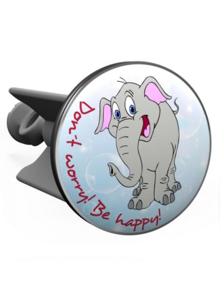 Plopp Lavabostöpsel Elefant dont worry