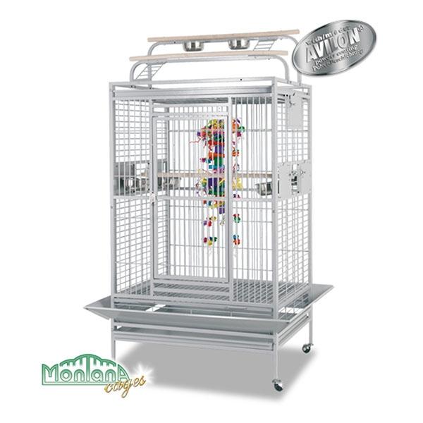Montana Vogelkäfig Hacienda Play Platinum