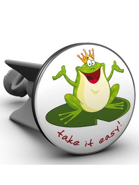 Plopp Lavabostöpsel Froschkönig