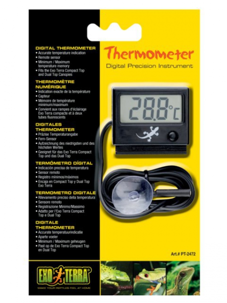 Exo Terra Thermometer digitales Thermometer