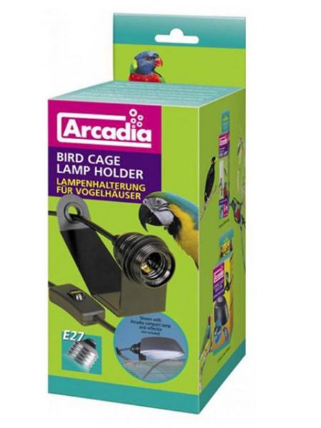 Arcadia Vogellampe Lampenhalterung